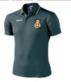 Wrexham AFC Draco Polo Shirt (Black)