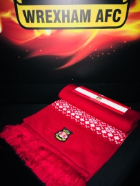 RED DELUXE SCARF