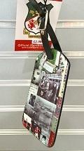 Wrexham AFC Retro Luggage Tag